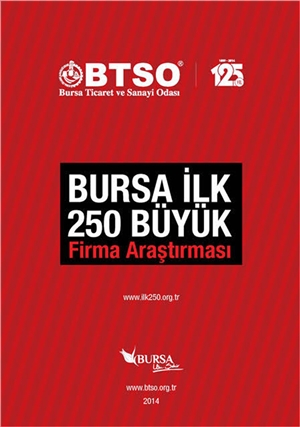 2013 Burkay & Uğur Chemical Ranks 1st in Bursa Chamber of Industry and Commerce Study