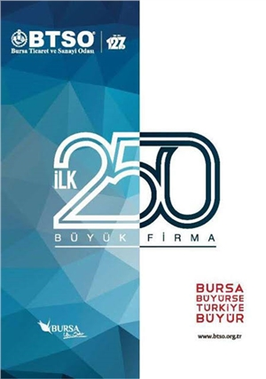 2015 Burkay & Uğur Chemical Ranks 1st in Bursa Chamber of Industry and Commerce Study